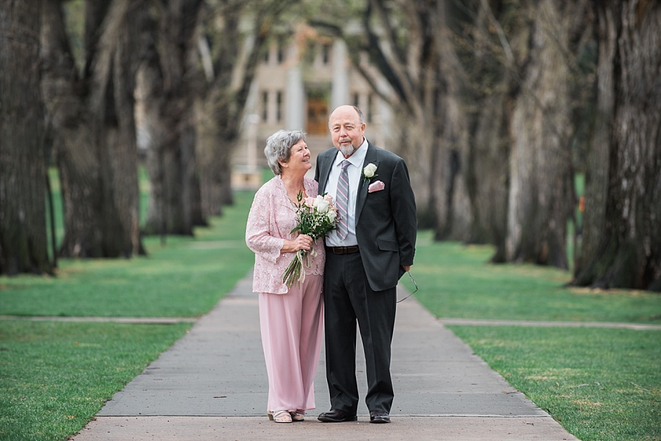 bride and groom portraits in fort collins colorado