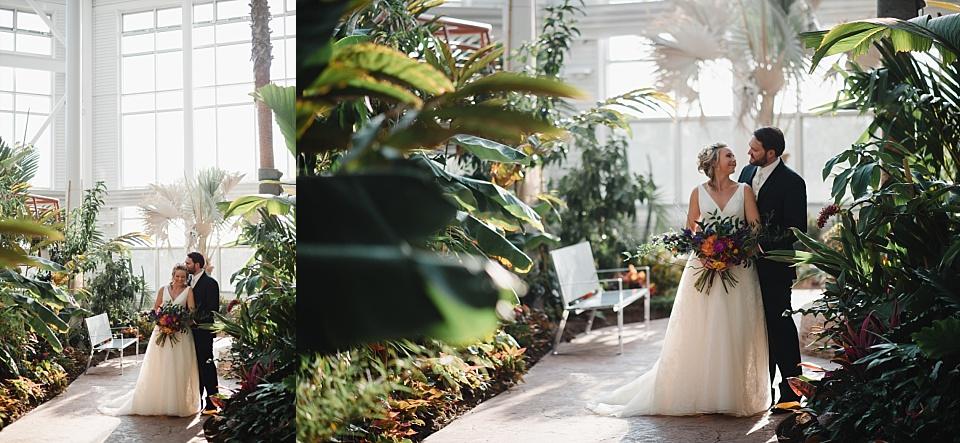 wedding at cheyenne botanic gardens