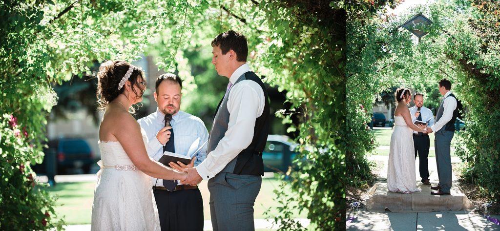 wedding at roosevelt park in longmont